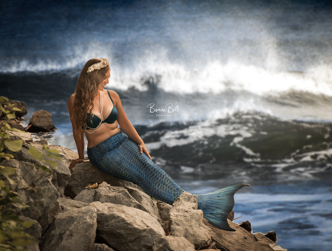 Mermaid photography kelowna bonne belle portraits